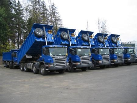 Продажа самосвалов Scania Благовещенск