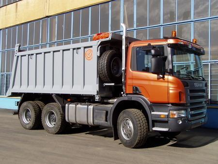 Самосвалы Scania 6x4