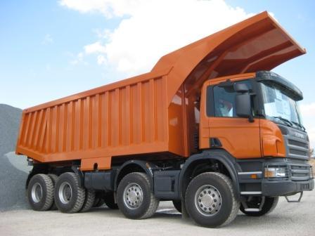 Карьерные самосвалы Скания 8x4 Scania
