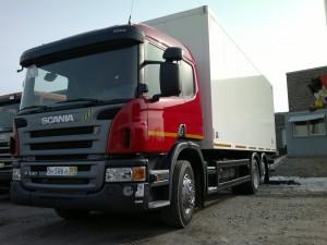 Фургон изотермический Scania P340 6x2
