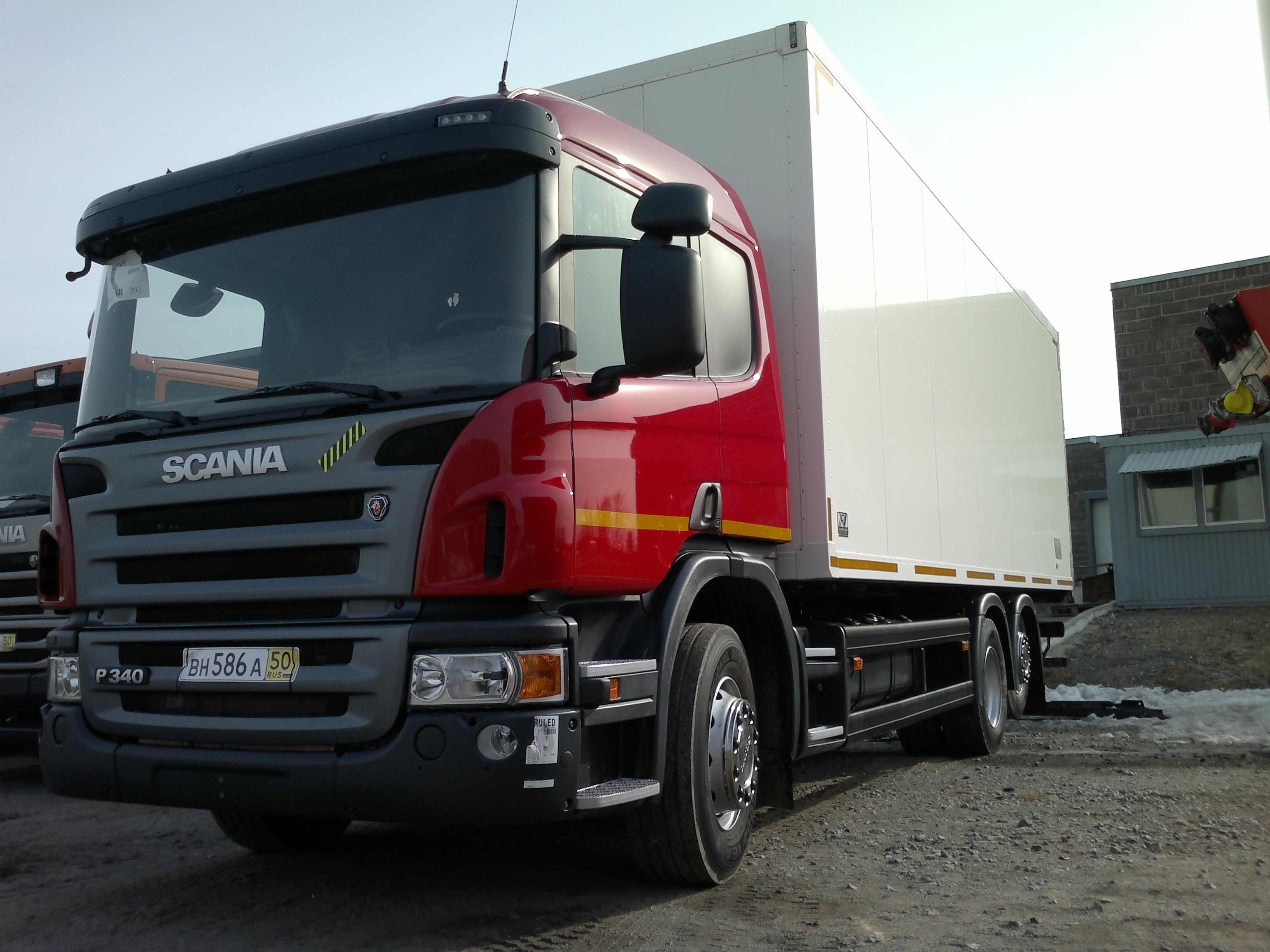 Фургон изотермический фура Скания продажа Хабаровск купить фуру