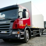 Изотермический фургон Scania P340 6x2