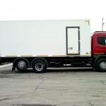 Продажа грузовиков в Хабаровске - фургон изотермический Скания
