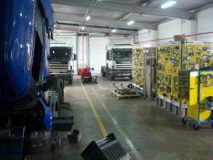 Сервисный центр Scania Дальний Восток