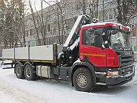 Продажа КМУ Hiab на базе Scania
