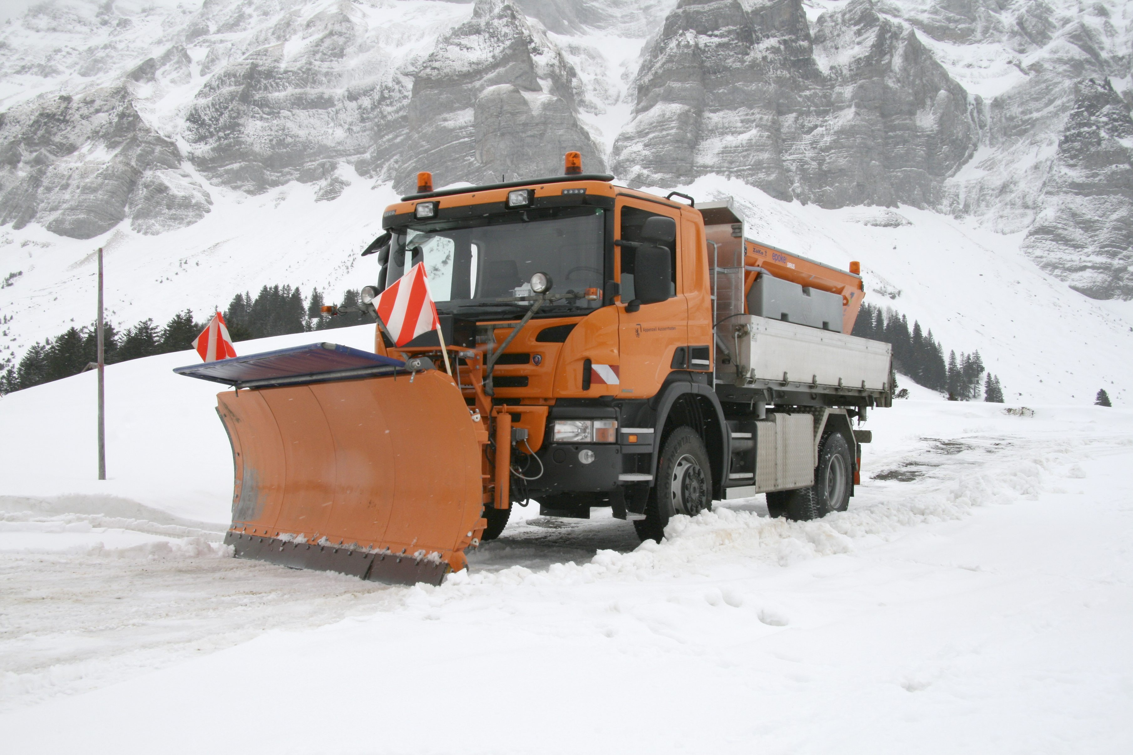 Коммунальная спецтехника Scania в Хабаровске
