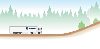 Экономия топлива Скания с системой Scania Active Prediction