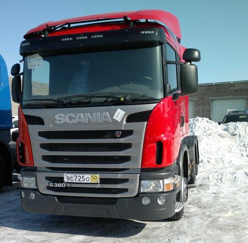 Купить тягач Скания G380 Хабаровск Scania