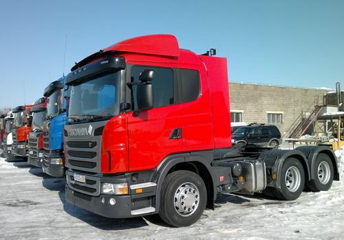 Купить тягач Скания G380 6x4 в Хабаровске