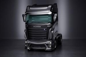 Дизайн тягача Скания R1000 в будущем