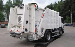 Мусоровозы Scania с оборудованием Zoeller
