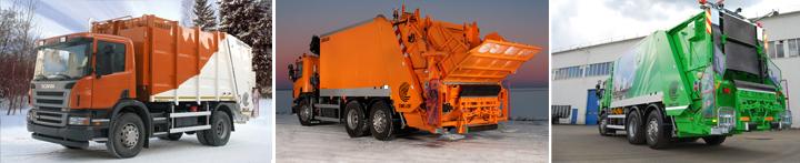 Мусоровозы Scania продажа в Хабаровске