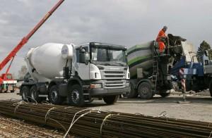 автобетоносмеситель Scania