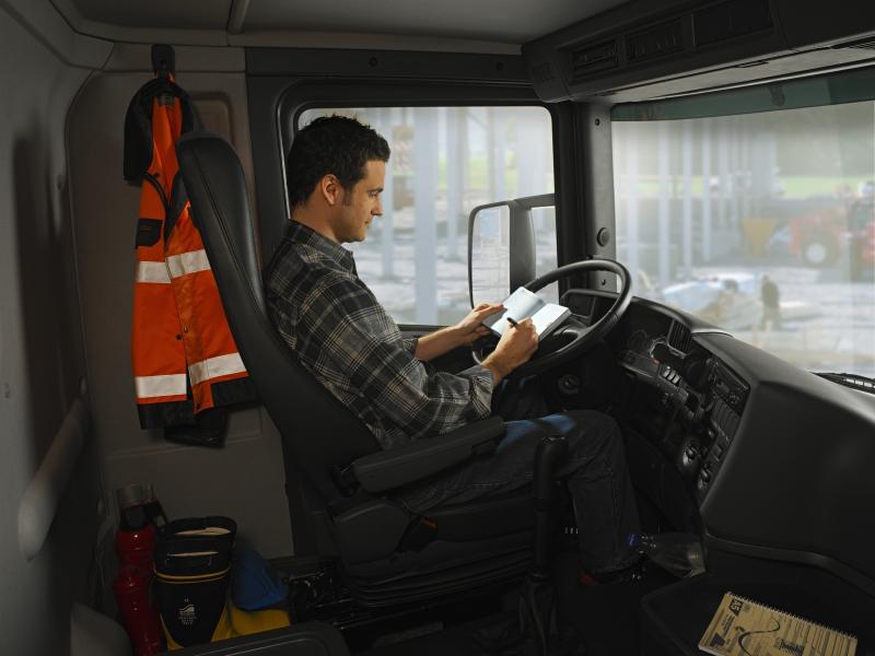 Интерьер дневной кабины Scania R серии