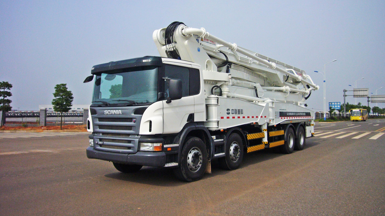 Zoomlion бетононасосы на грузовике Скания