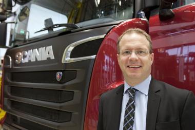 Новый глава компании Scania Martin Lundstedt