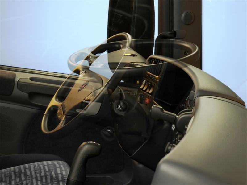 Спальная кабина Скания CP19N рулевое колесо