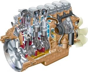 Двигатель Scania 11-литровый 340-380 л.с.