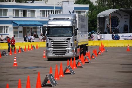 Скания конкурс молодого водителя грузовика