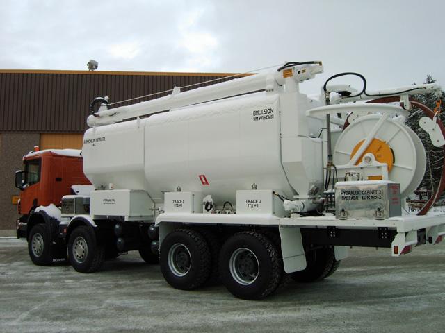 Смесительно-зарядные машины Scania
