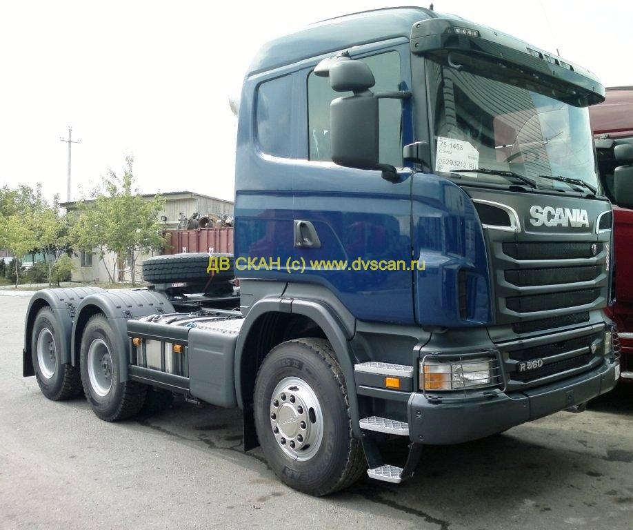 купить седельный тягач 6х4 Хабаровск у дилера Scania