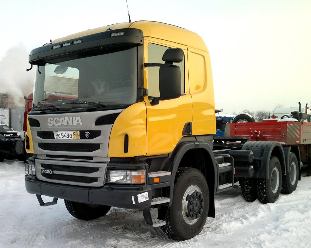 Продажа тягачей 6х6 Хабаровск Владивосток Якутия Благовещенск - дилер Scania ДВ Скан