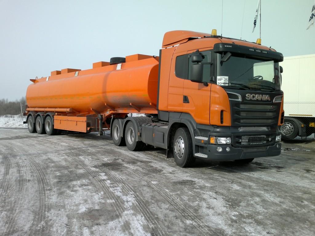 Бензовозы Скания - купить в Хабаровске бензовоз