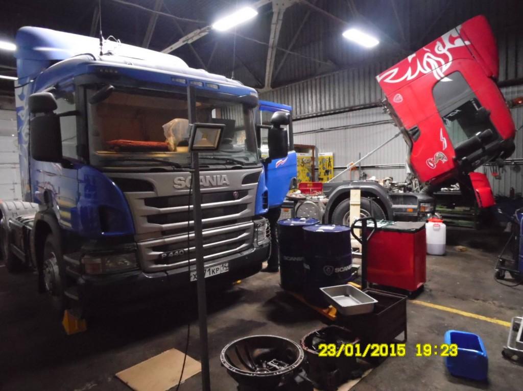 Сервис Скания Scania Якутия Нерюнгри