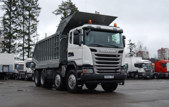 самосвалы 8х8 Хабаровск купить дилер Scania