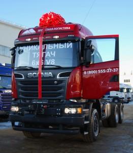 Продажа тягачей Хабаровск Якутия Scania R620V8 6x6