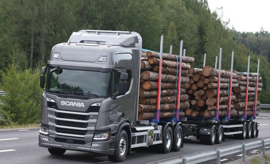Новая Скания Scania 2017 тягачи