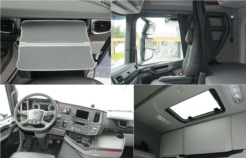 Новая Скания Scania 2017 тягачи кабина
