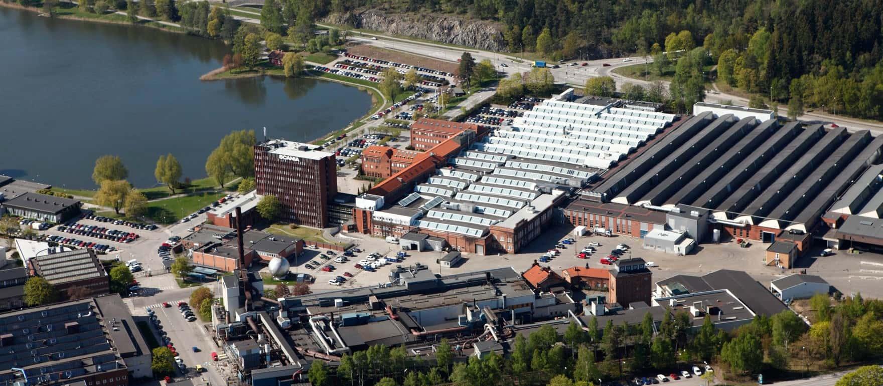 Scania главный офис Швеция